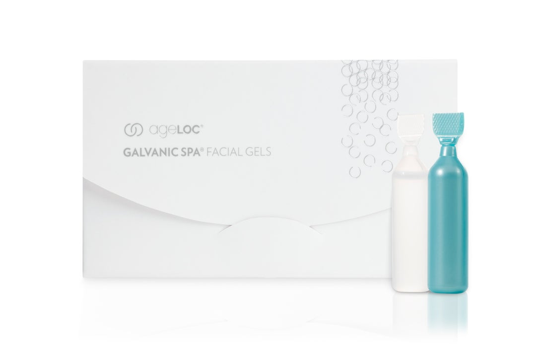 Nu Skin ageLOC Galvanic Spa Facial Gels pro anti-ageing zařízení - 1 box
