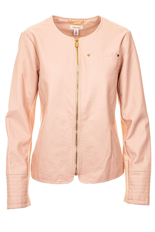 Calvin Klein dámská bunda pudrová Velikost: L