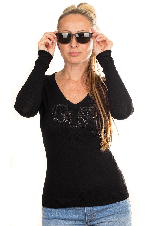 Guess dámský svetr s flitry černý Velikost: XS