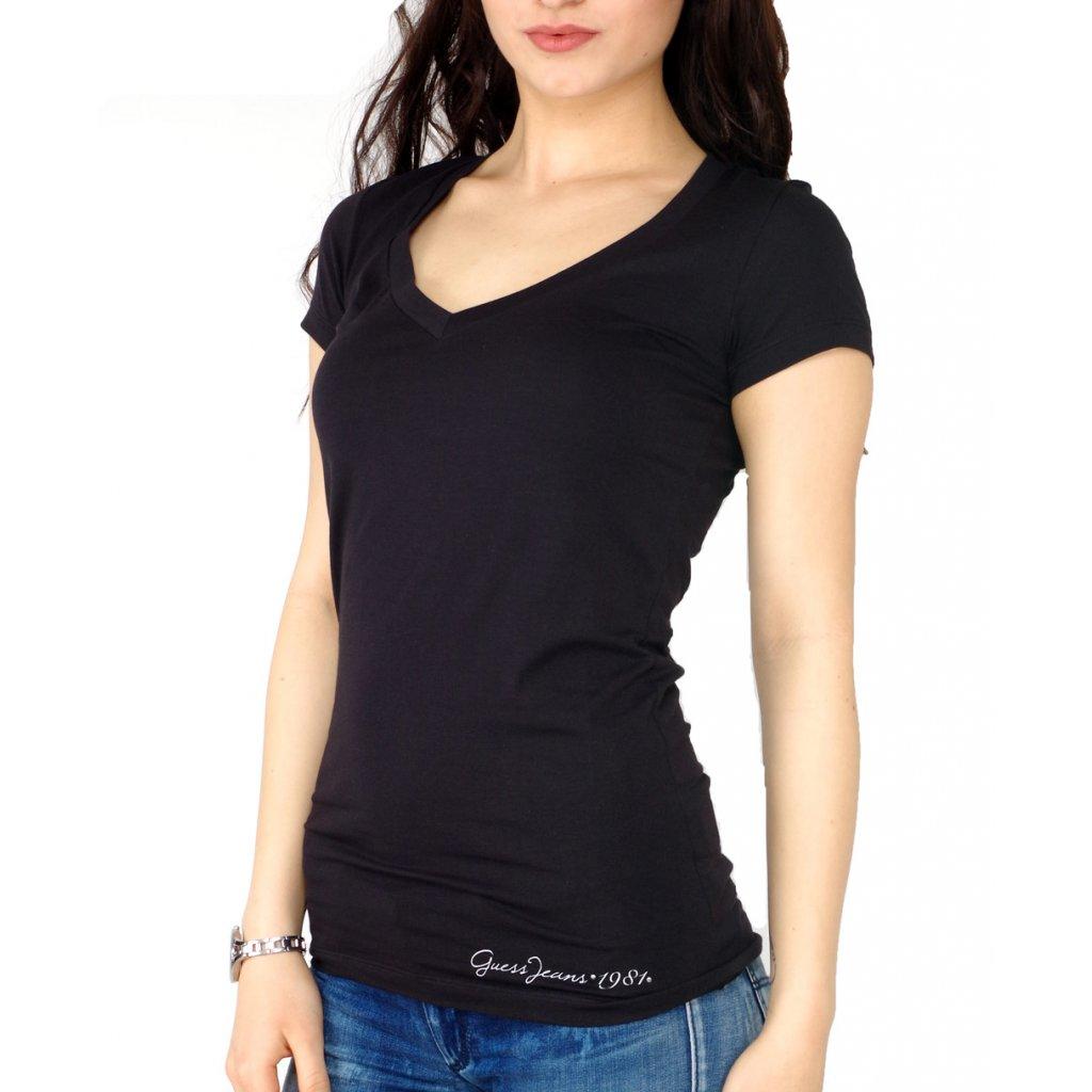 d3b9c11e7a Guess tričko s aplikací na zádech GWP516J1399 - Fashion Center