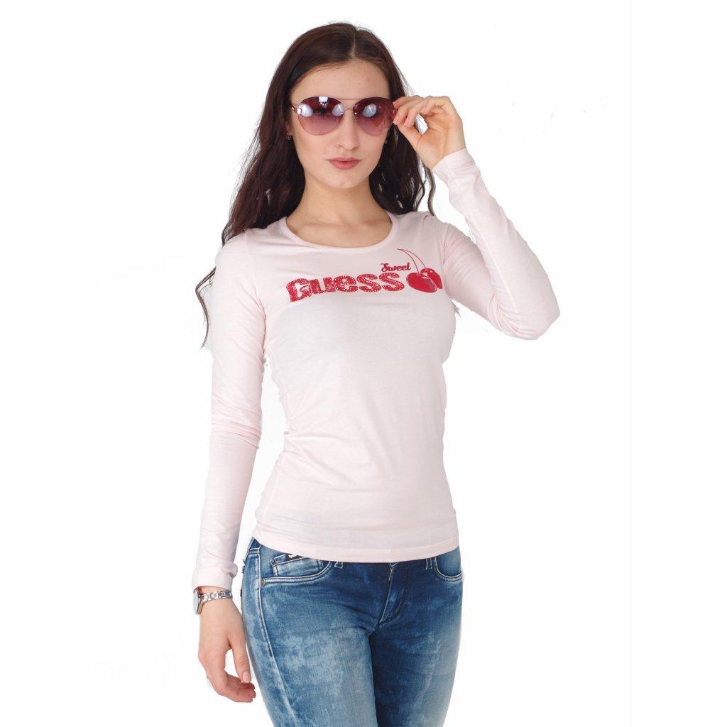 0cd997d05 Guess tričko s dlouhým rukávem - Fashion Center