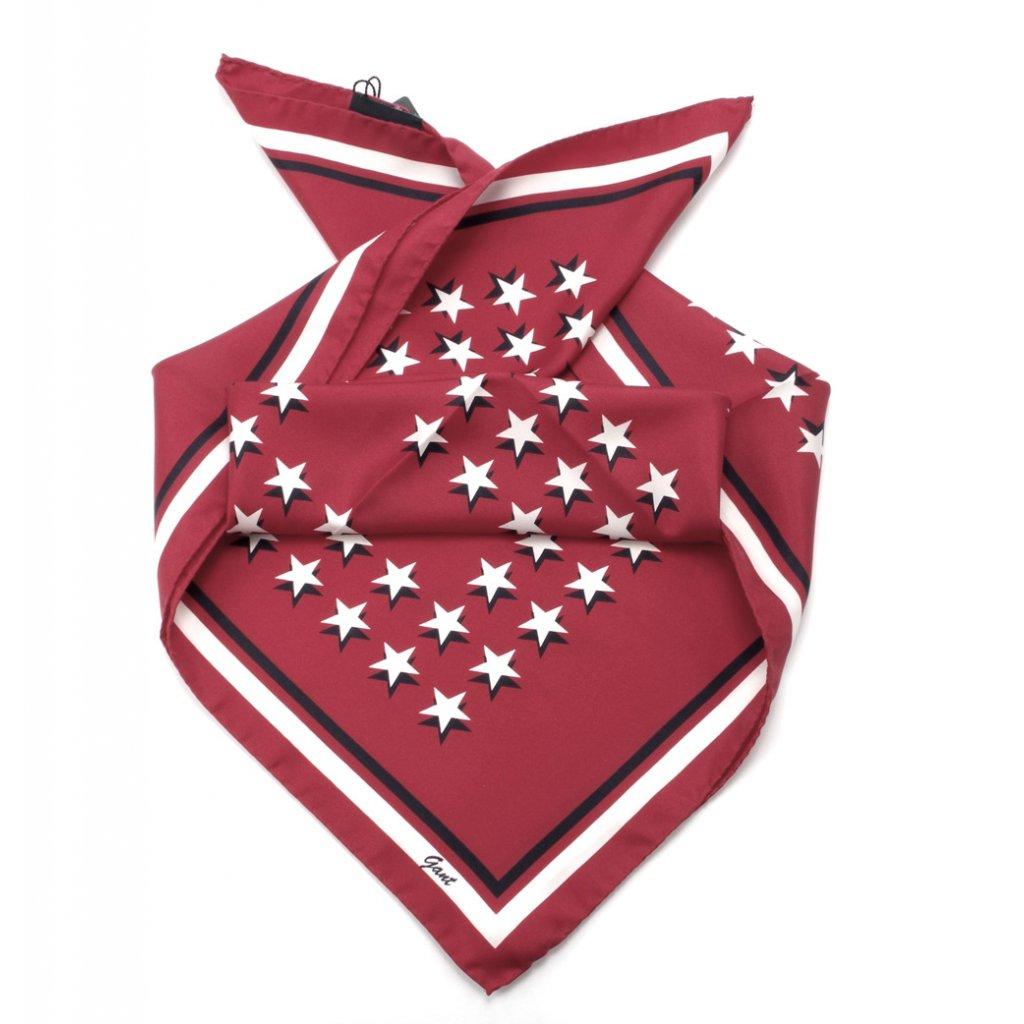 44243503c99 Gant velký hedvábný šátek gnh star - Fashion Center