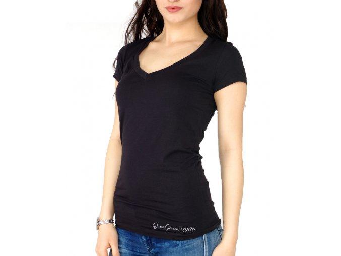 Guess tričko s aplikací na zádech GWP516J1399