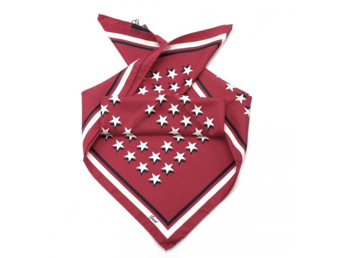 Gant velký hedvábný šátek gnh star