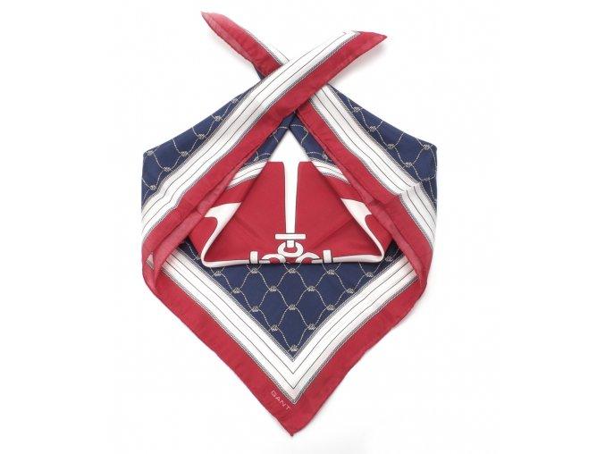 Gant velký hedvábný šátek nautical