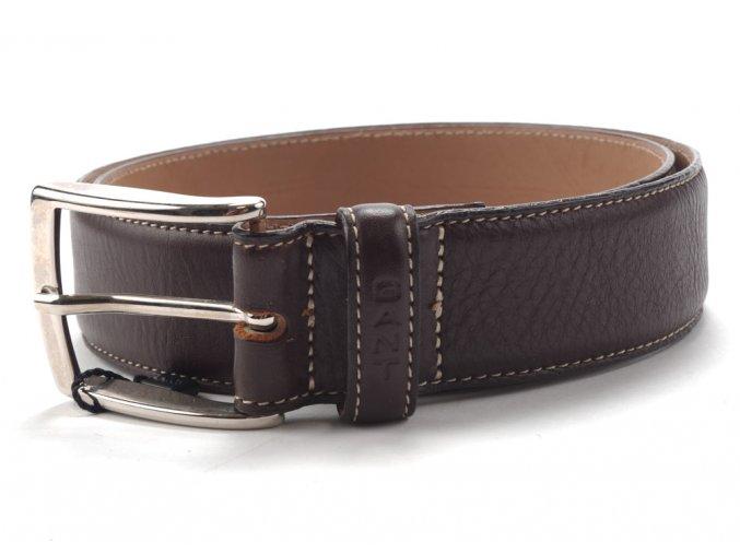 Gant kožený pásek do pasu dark brown