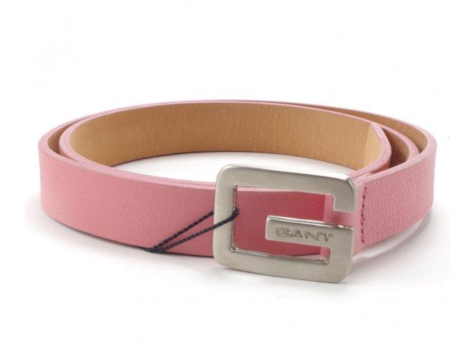 Gant kožený pásek warm pink