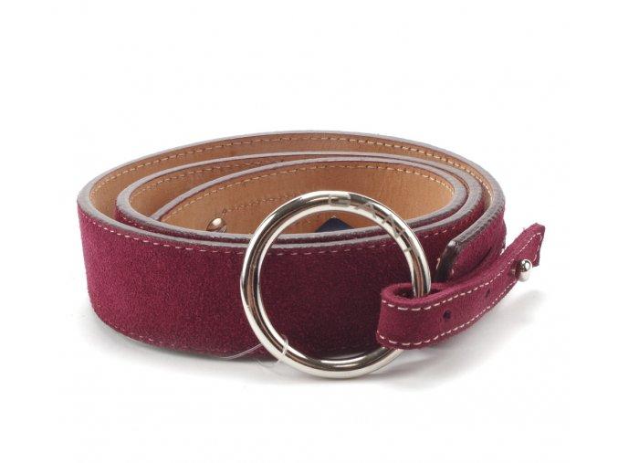 Gant kožený pásek purple