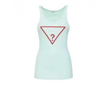 guess trangle top zelena
