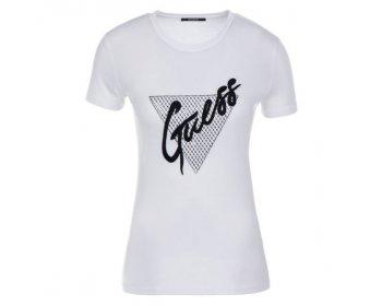 guess bílé tričko