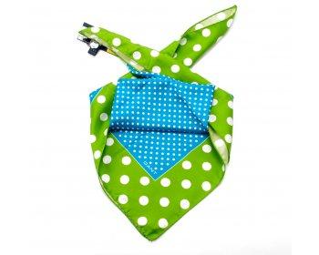 Gant hedvábný šátek cactus green
