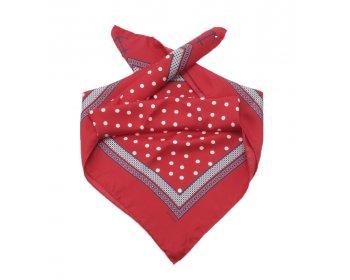Gant velký hedvábný šátek riviera dot