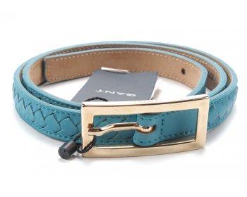 Gant kožený pásek turquise
