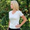 Guess viskózové tričko White