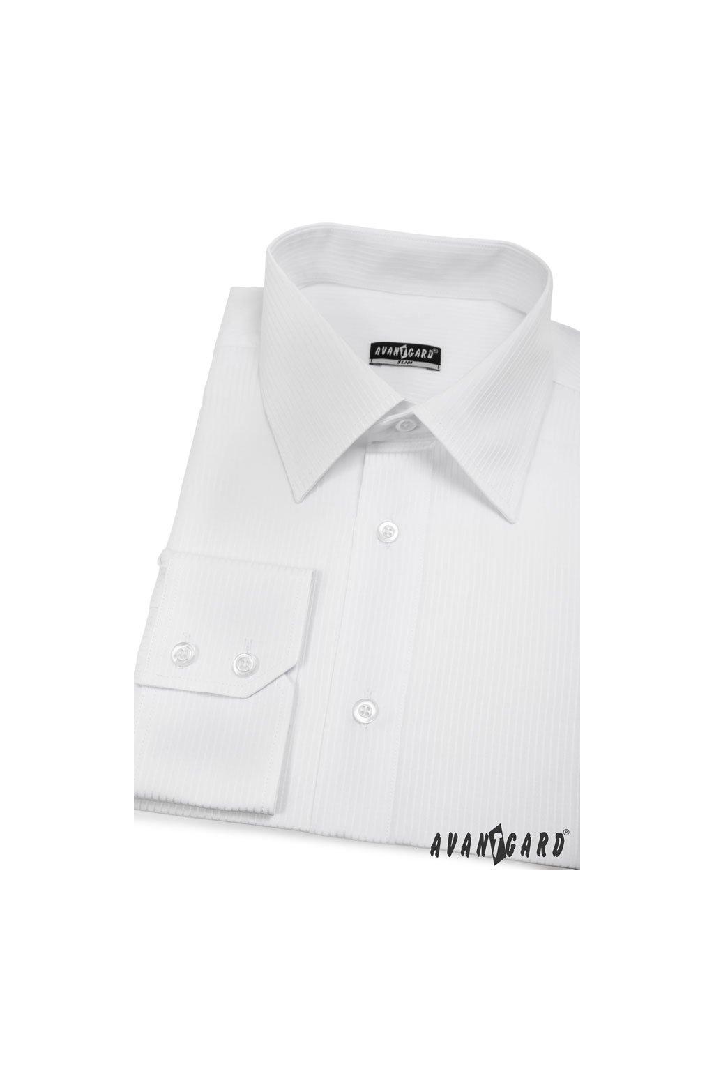 Pánská košile SLIM bílá 121 - 2111