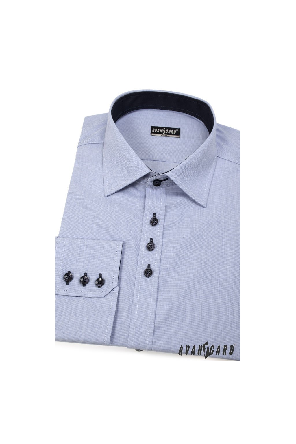 Pánská košile SLIM modrá 127 - 299