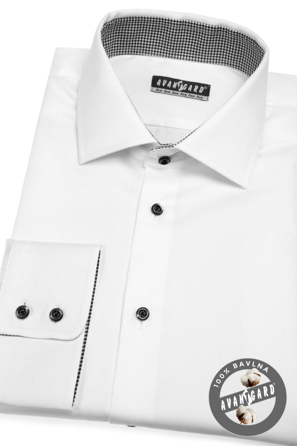 Pánská košile KLASIK bílá 509 - 0129