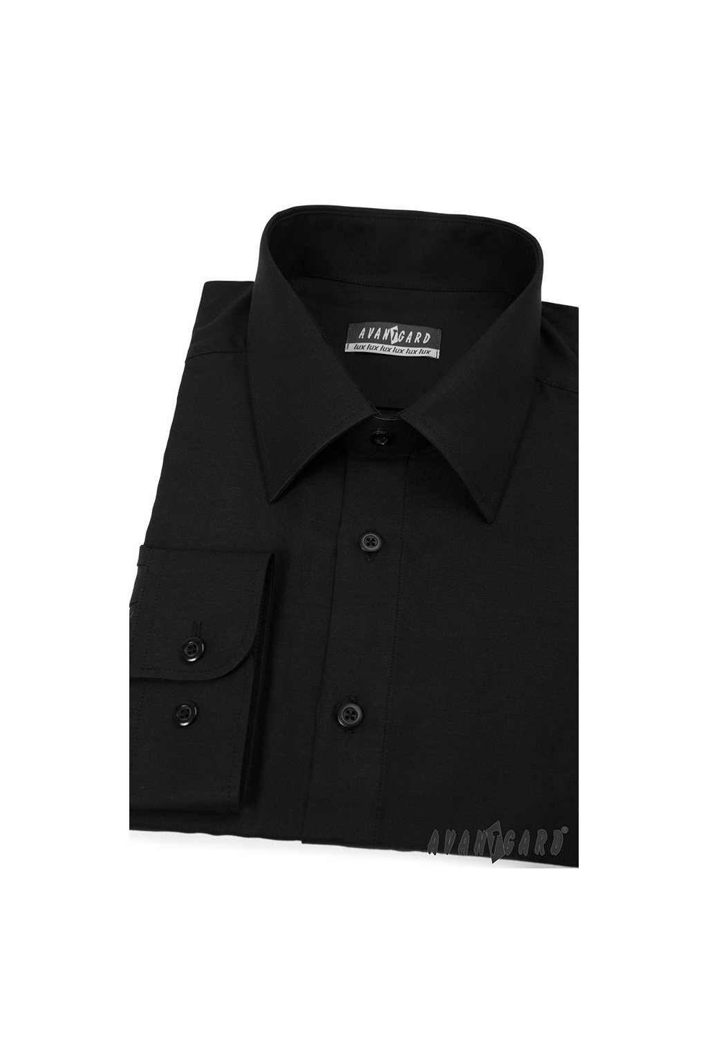 Pánská košile černá 511 - 23