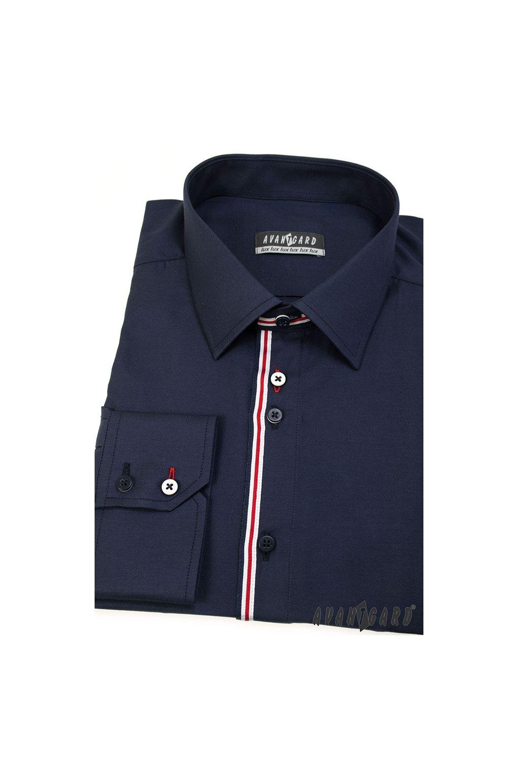 Pánská košile modrá 511 - 3105