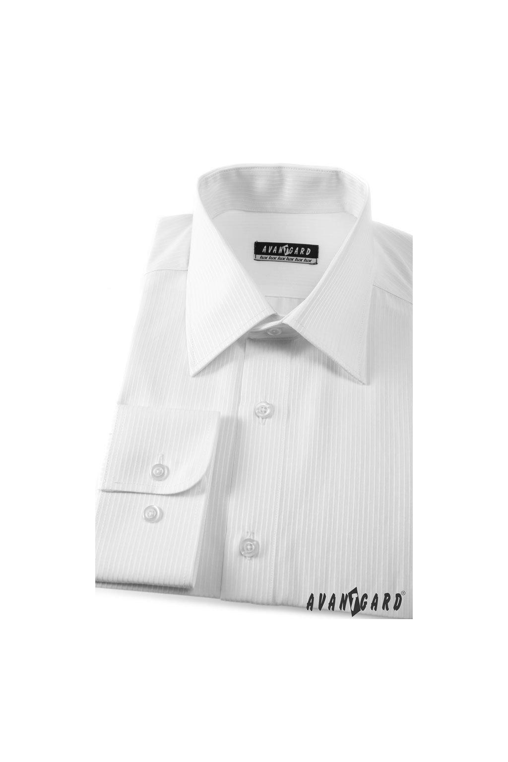 Pánská košile KLASIK bílá 527 - 2111