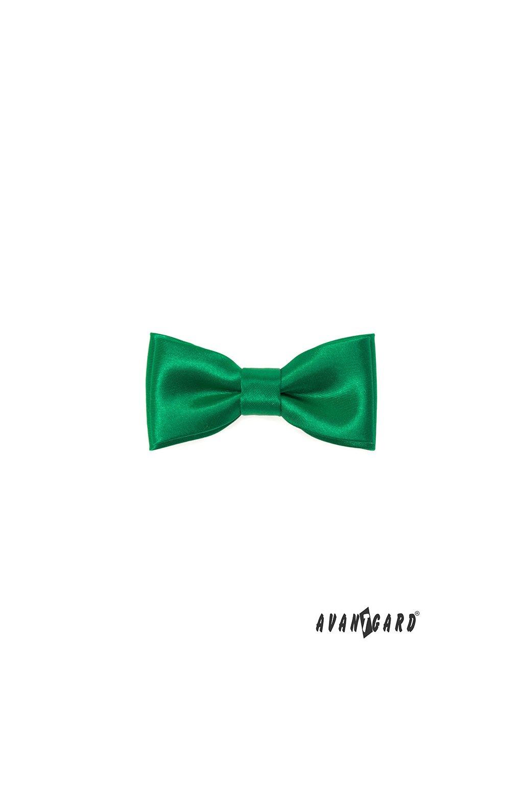 Motýlek MINI smaragdová 531 - 9046