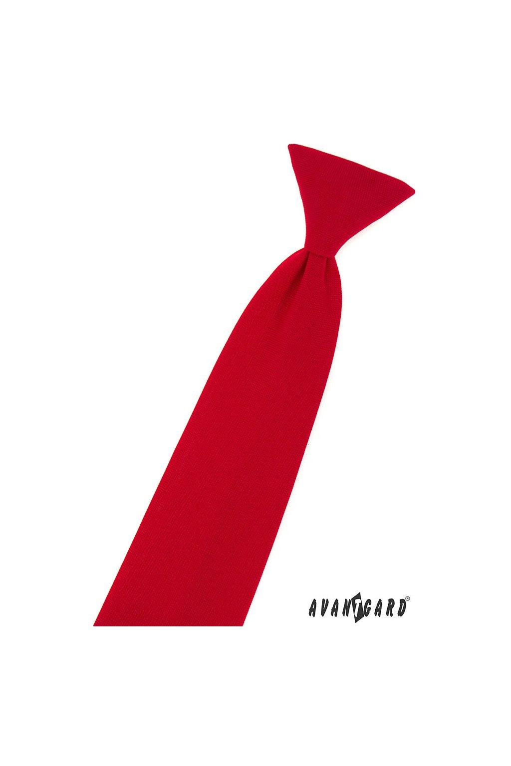 Chlapecká kravata červená 548 - 9857