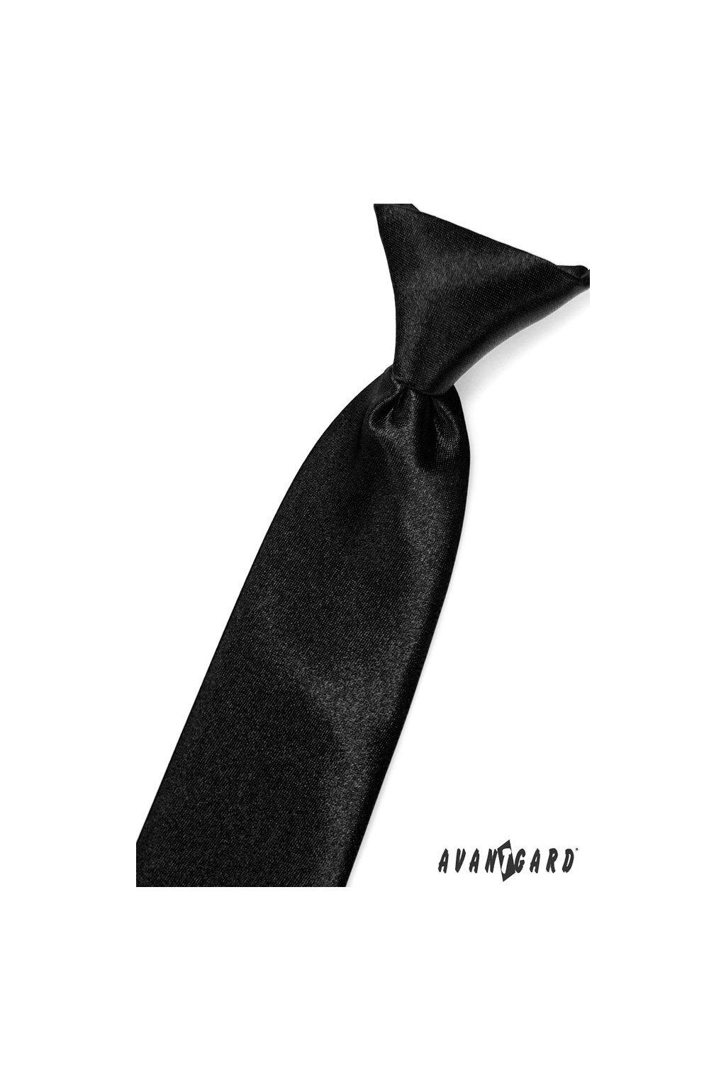 Chlapecká kravata černá 558 - 705
