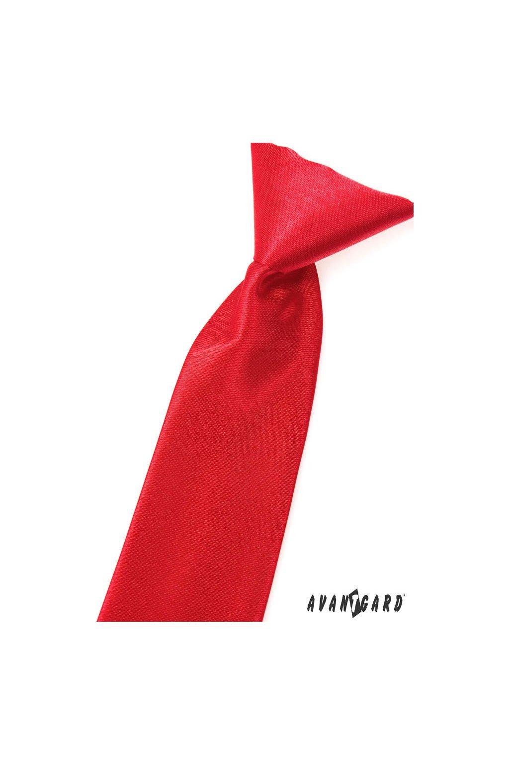 Chlapecká kravata červená 558 - 758