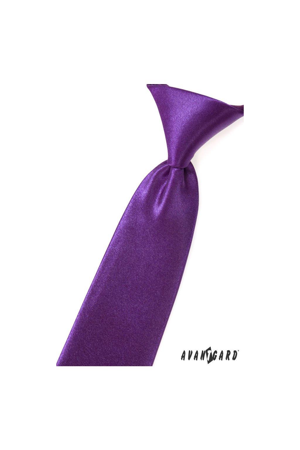 Chlapecká kravata fialová 558 - 9017