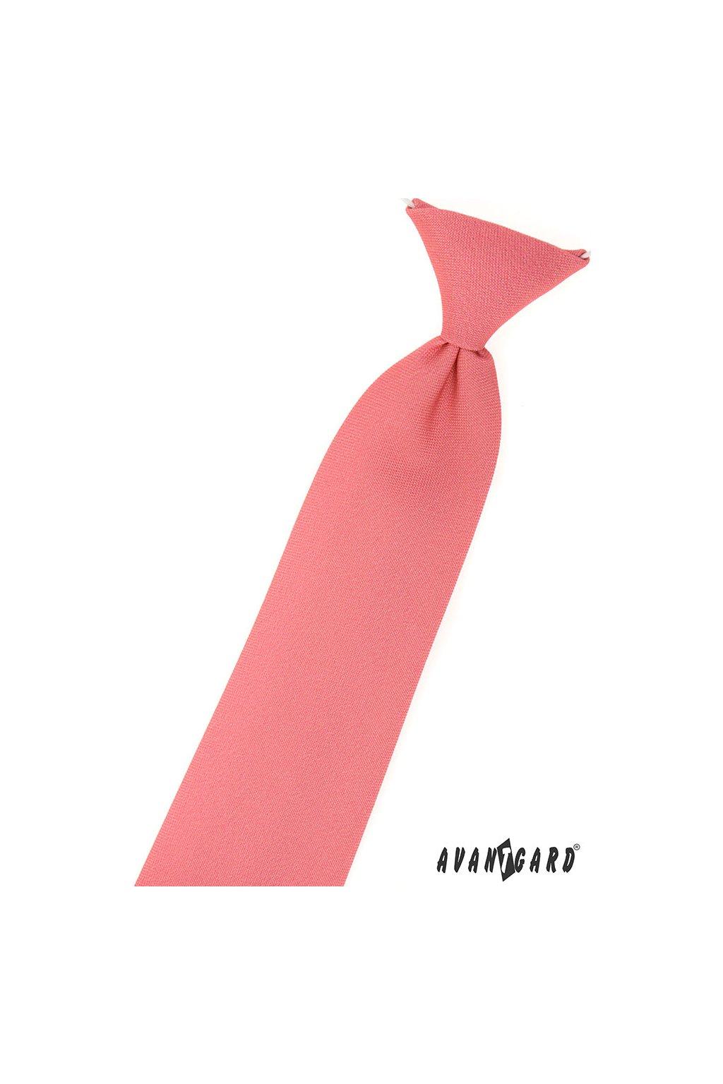 Chlapecká kravata korálová 558 - 9812