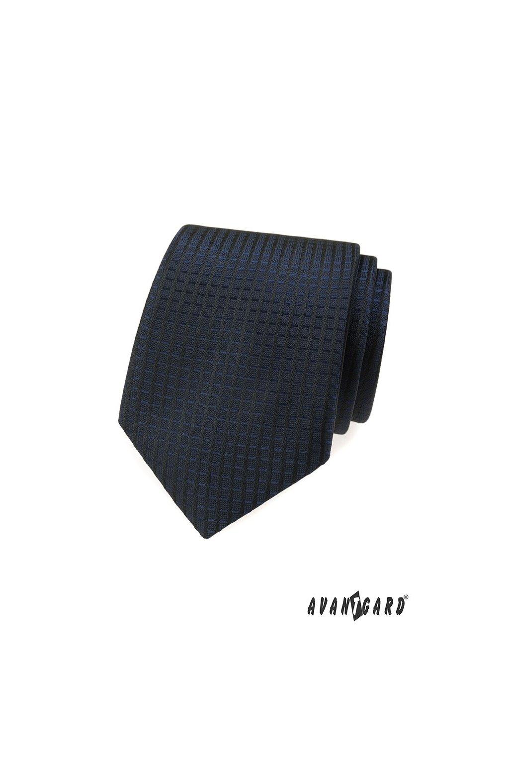 Tmavě modrá kravata 559 - 376