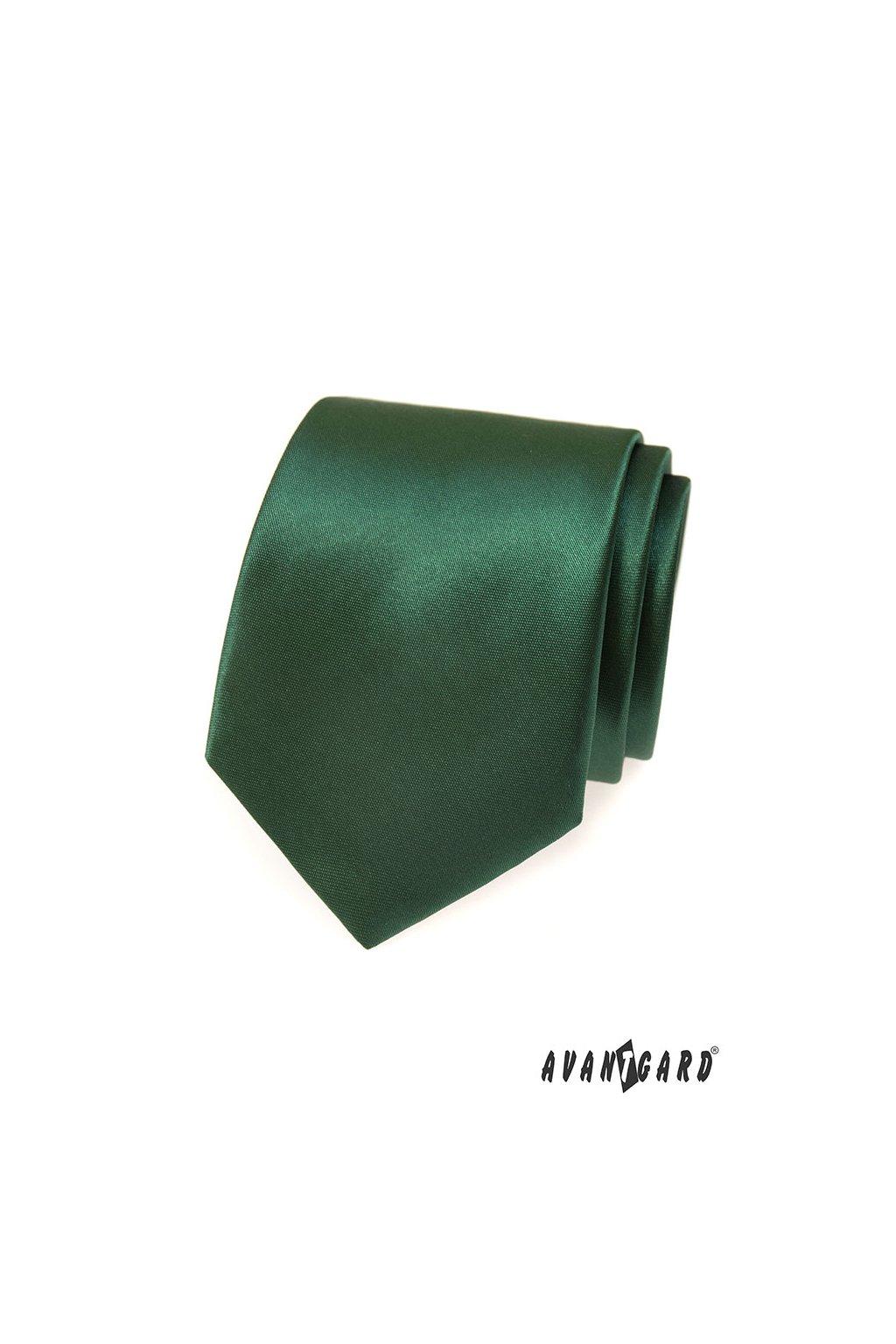 Tmavě zelená kravata 559 - 724