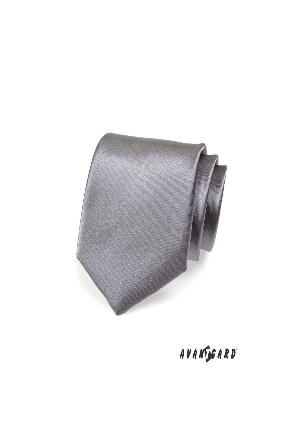 Grafitová světlá kravata 559 - 736