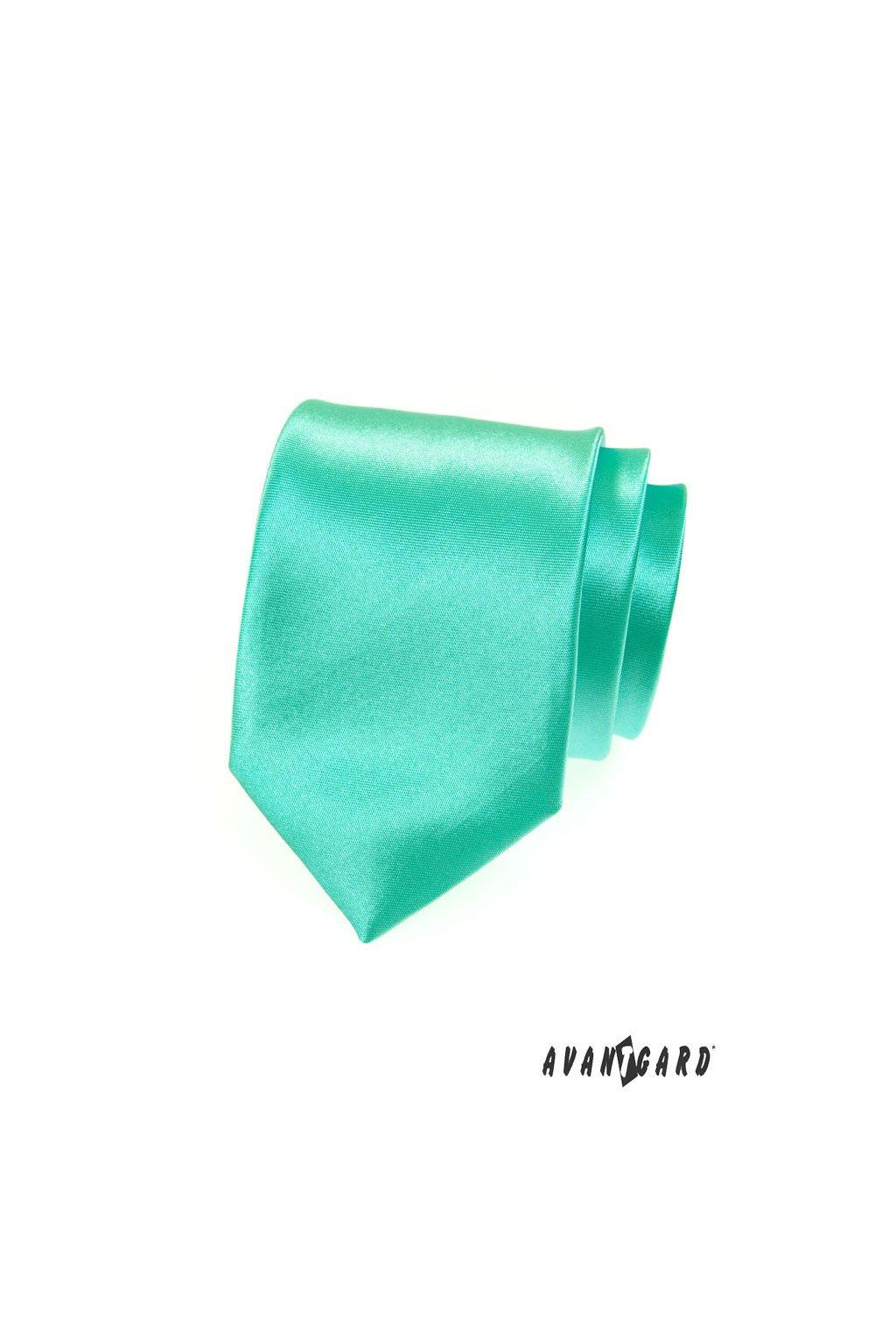 Mátová kravata lesklá 559 - 793