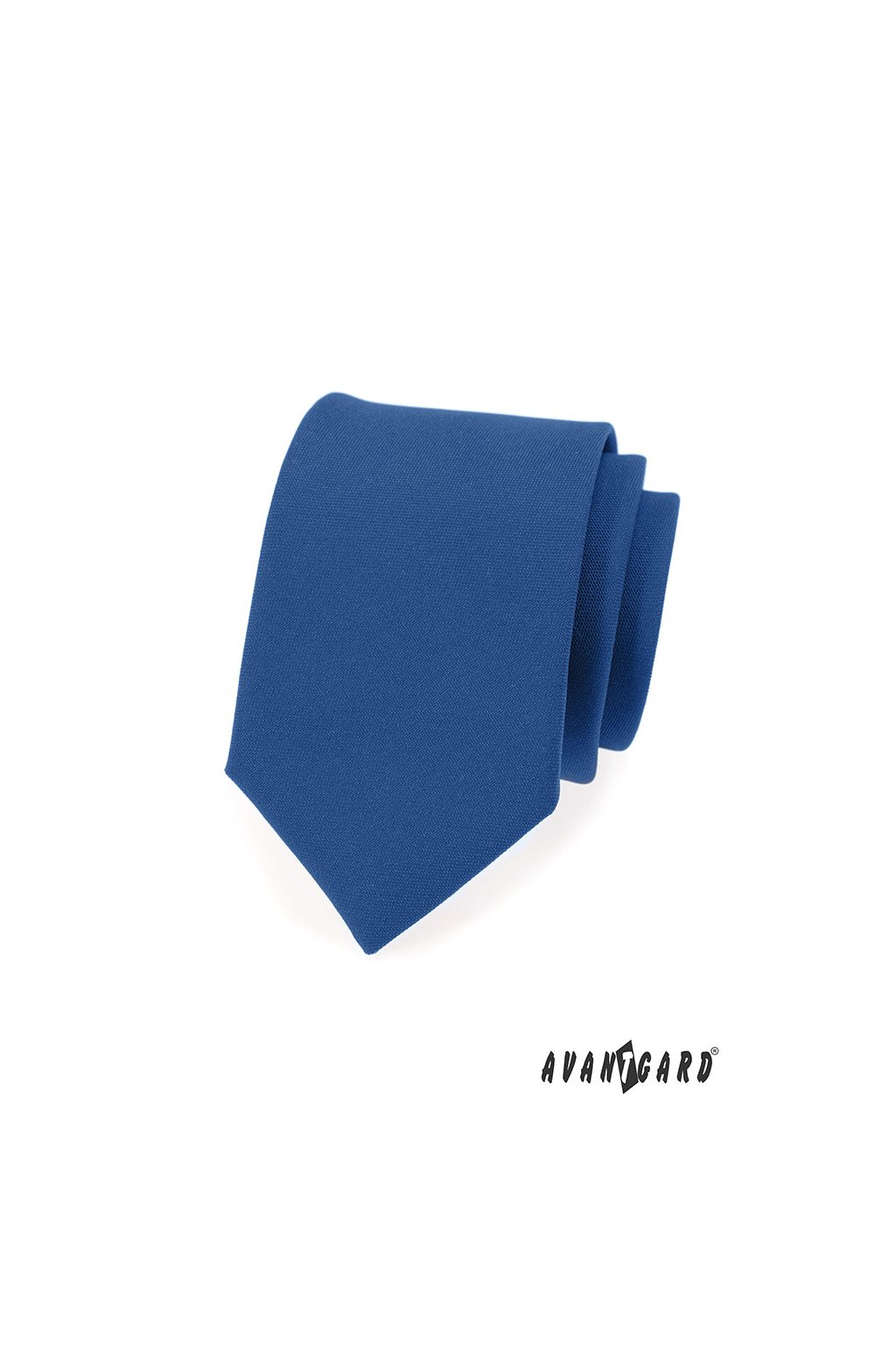 Modrá luxusní kravata mat 561 - 9837