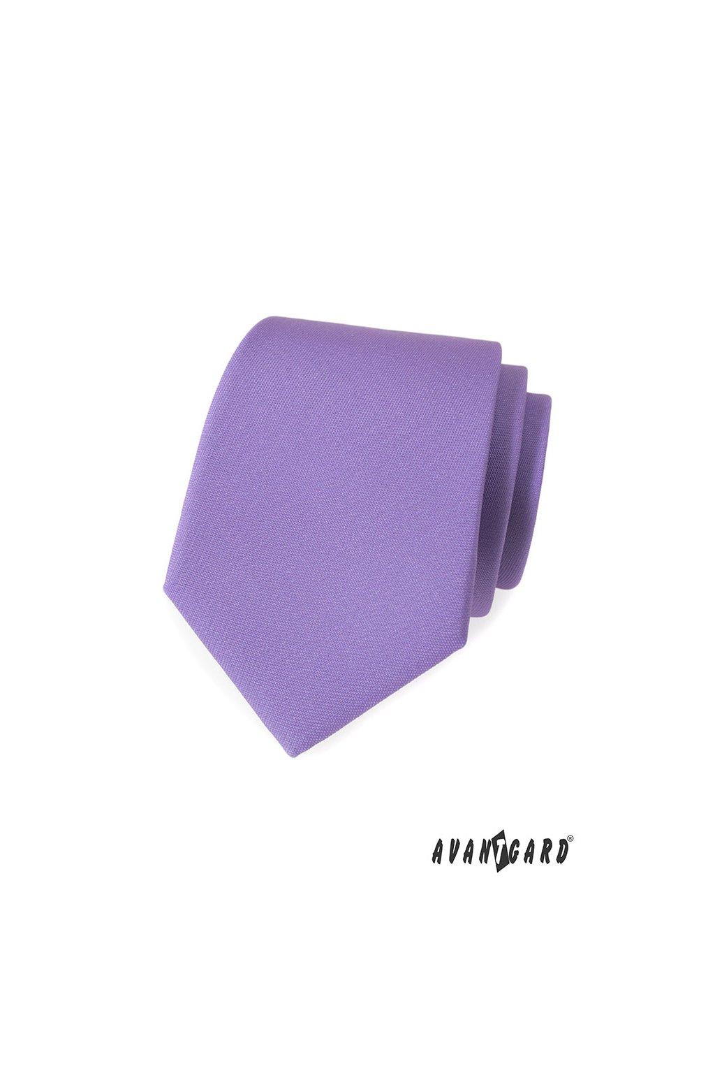 Lila luxusní kravata 561 - 9838