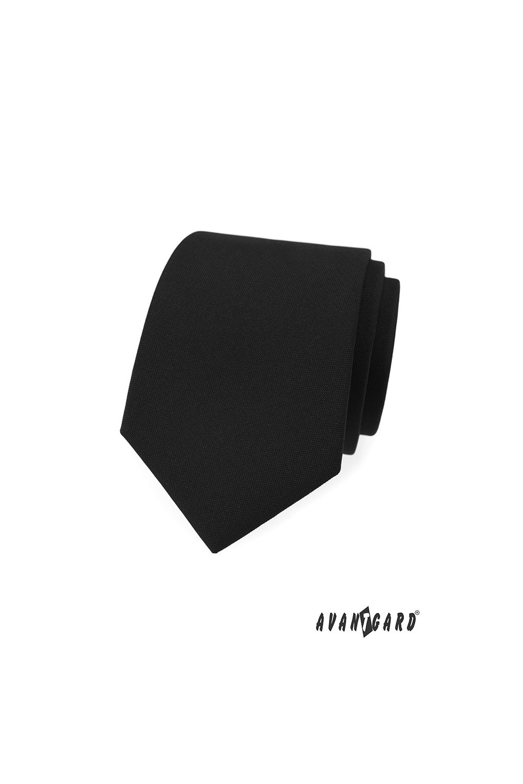 Černá luxusní kravata matná 561 - 9856