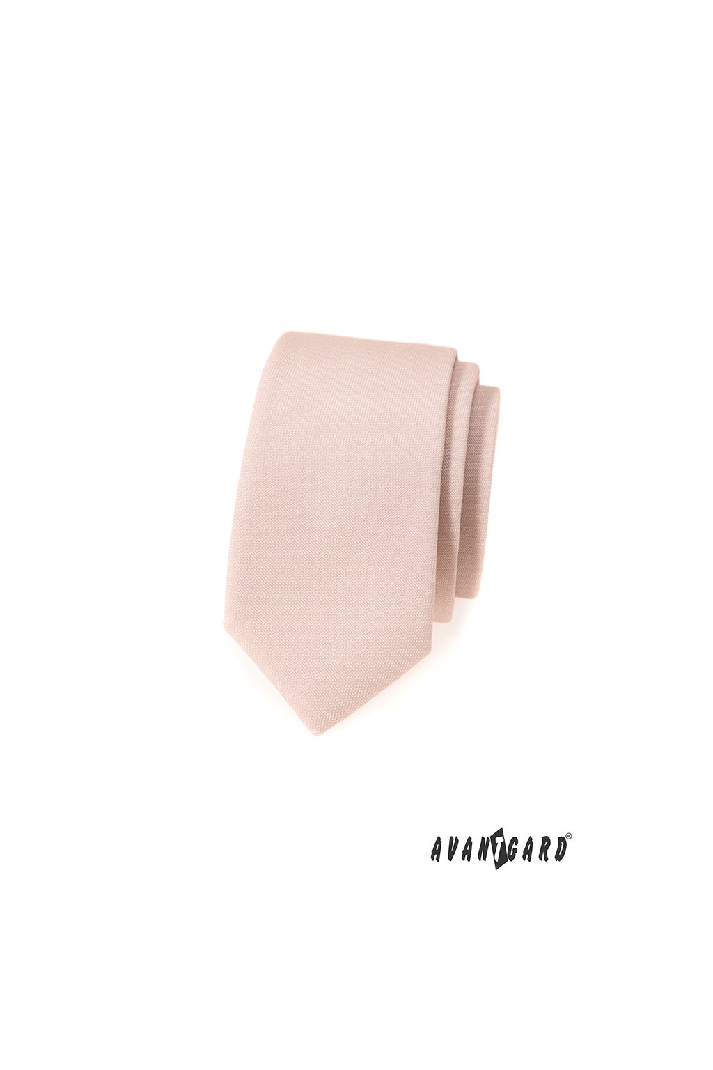 Svatební úzká kravata ivory 571 - 9832