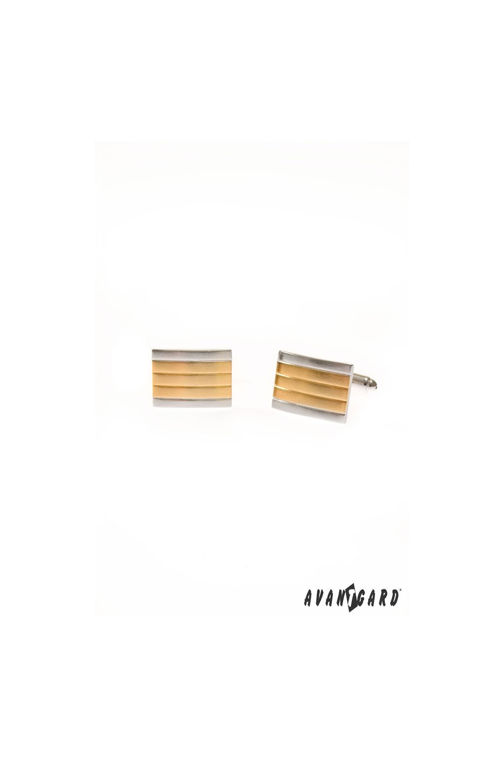 Manžetové knoflíčky PREMIUM stříbrná, zlatá 573 - 30053
