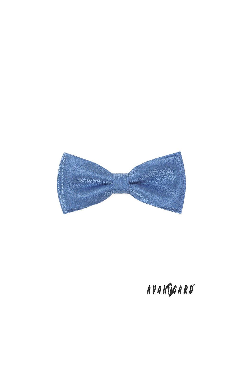 Motýlek s kapesníčkem modrá 575 - 22033