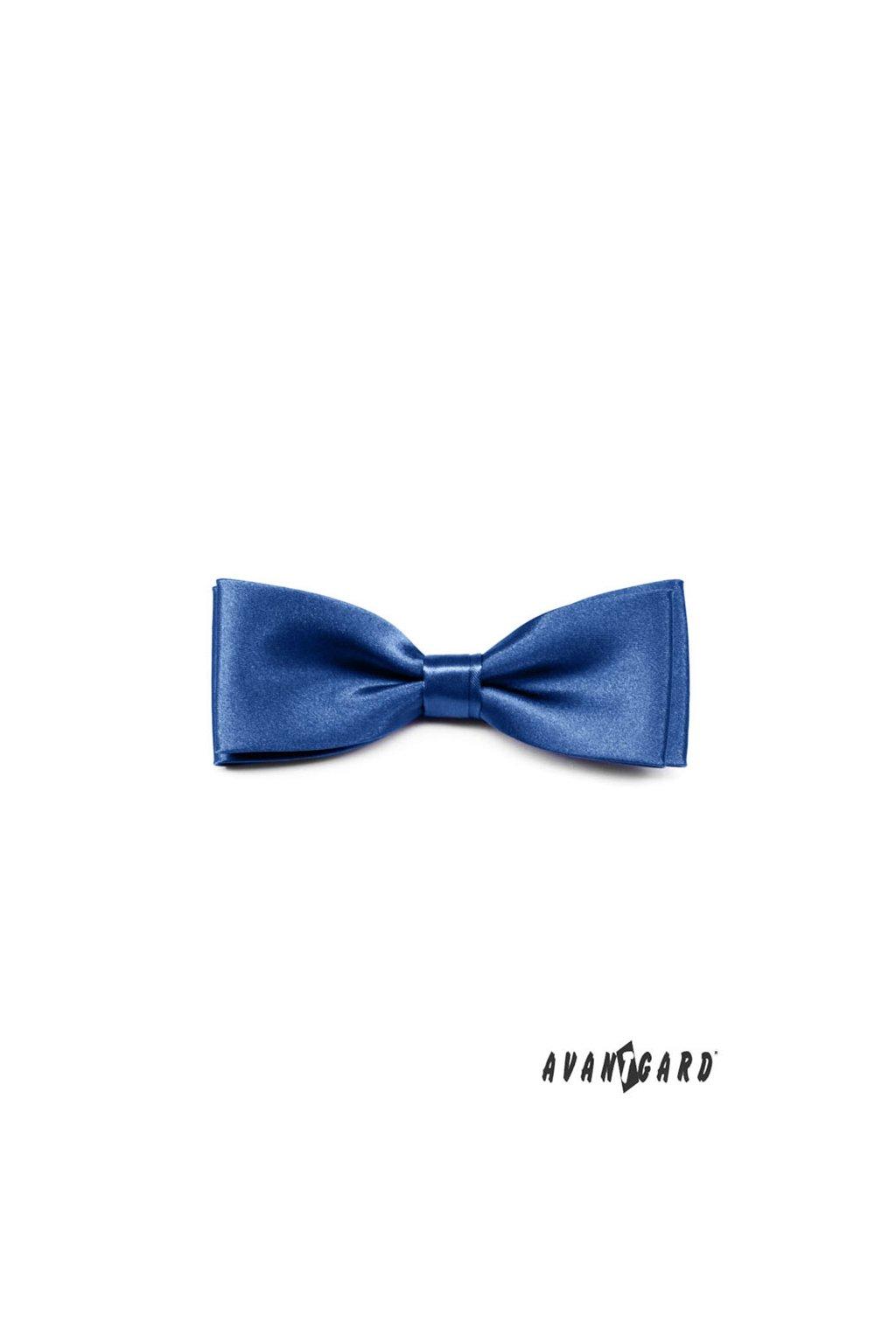 Motýlek s kapesníčkem modrá 575 - 9013