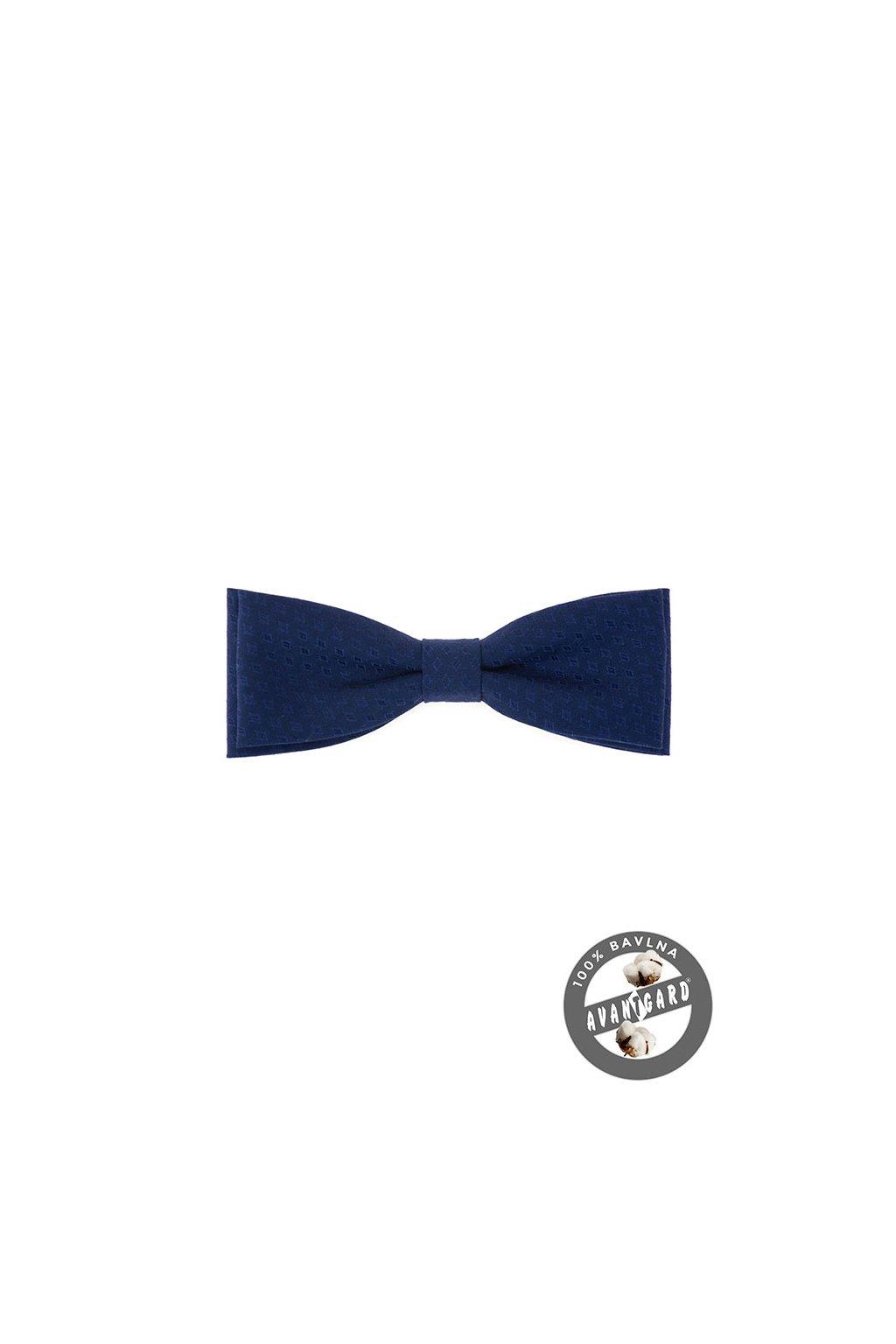 Pánský motýlek modrý 576 - 51011
