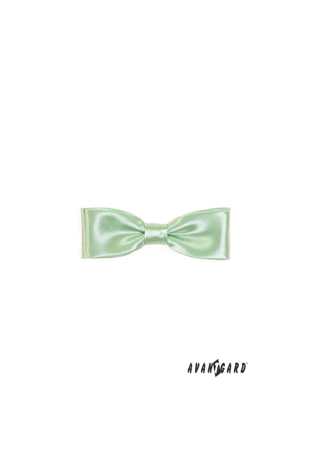 Pánský motýlek zelený světlý 576 - 9024