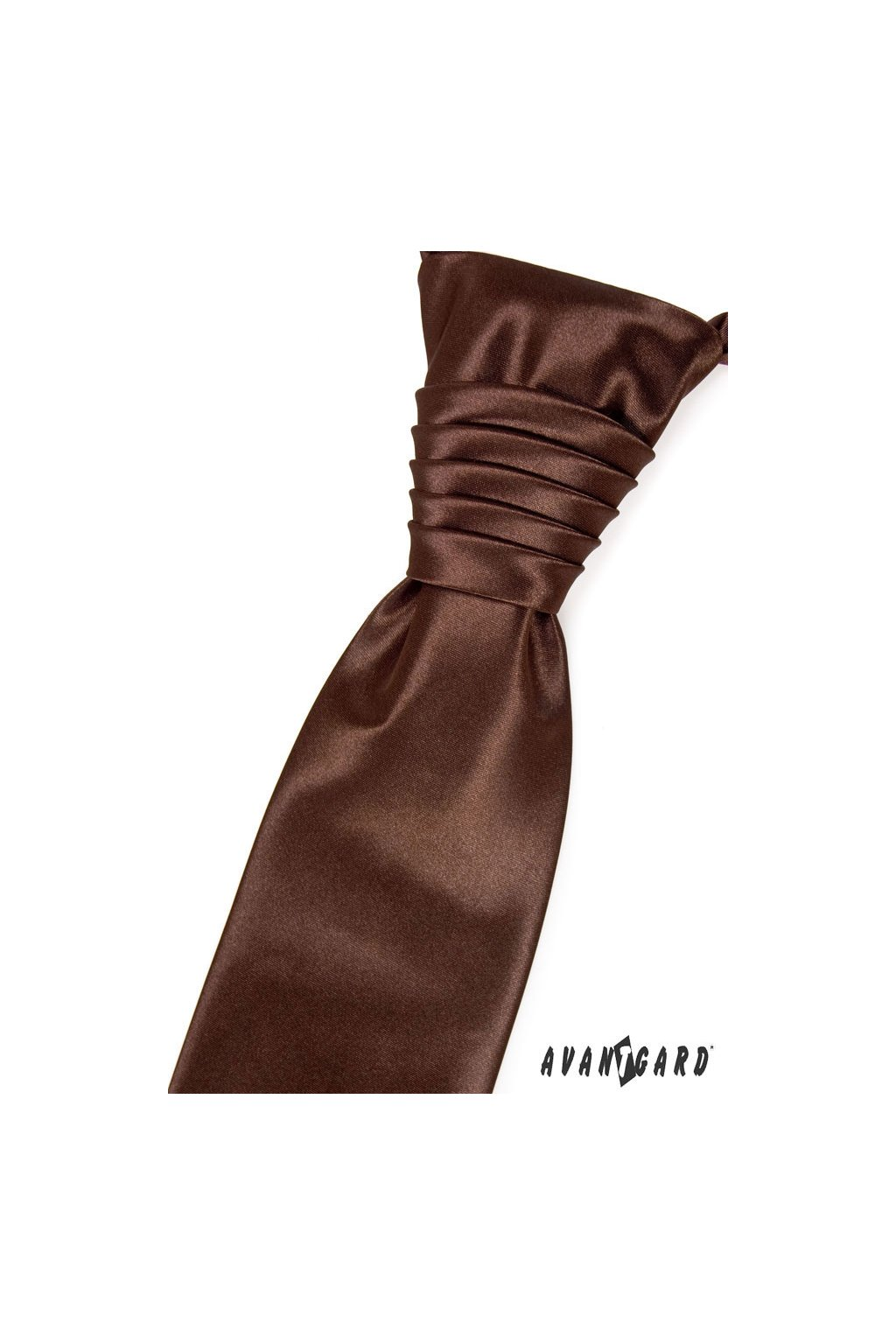 Regata PREMIUM a kapesníček čokoládová 577 - 9018
