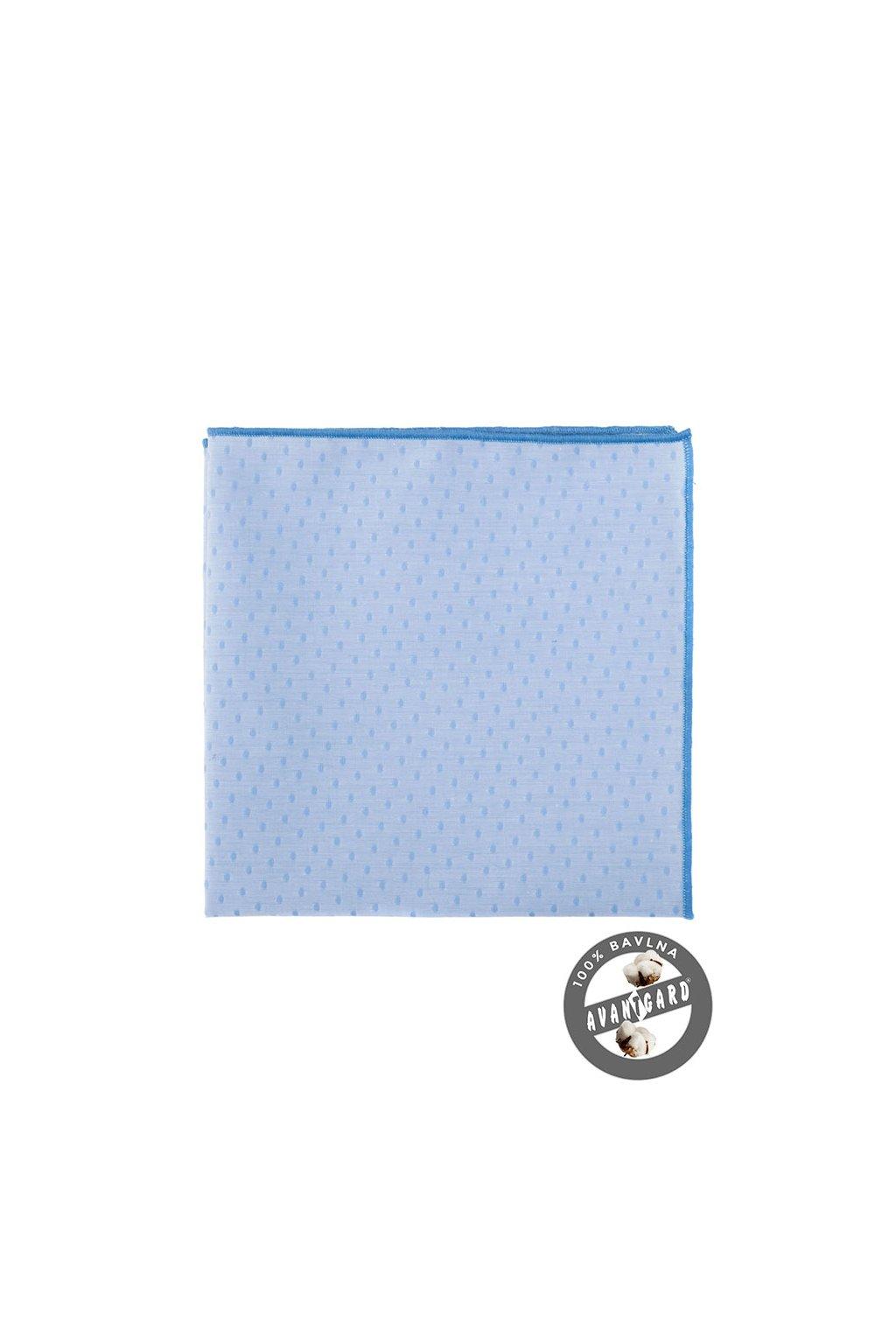 Kapesníček do saka LUX modrá 583 - 5178