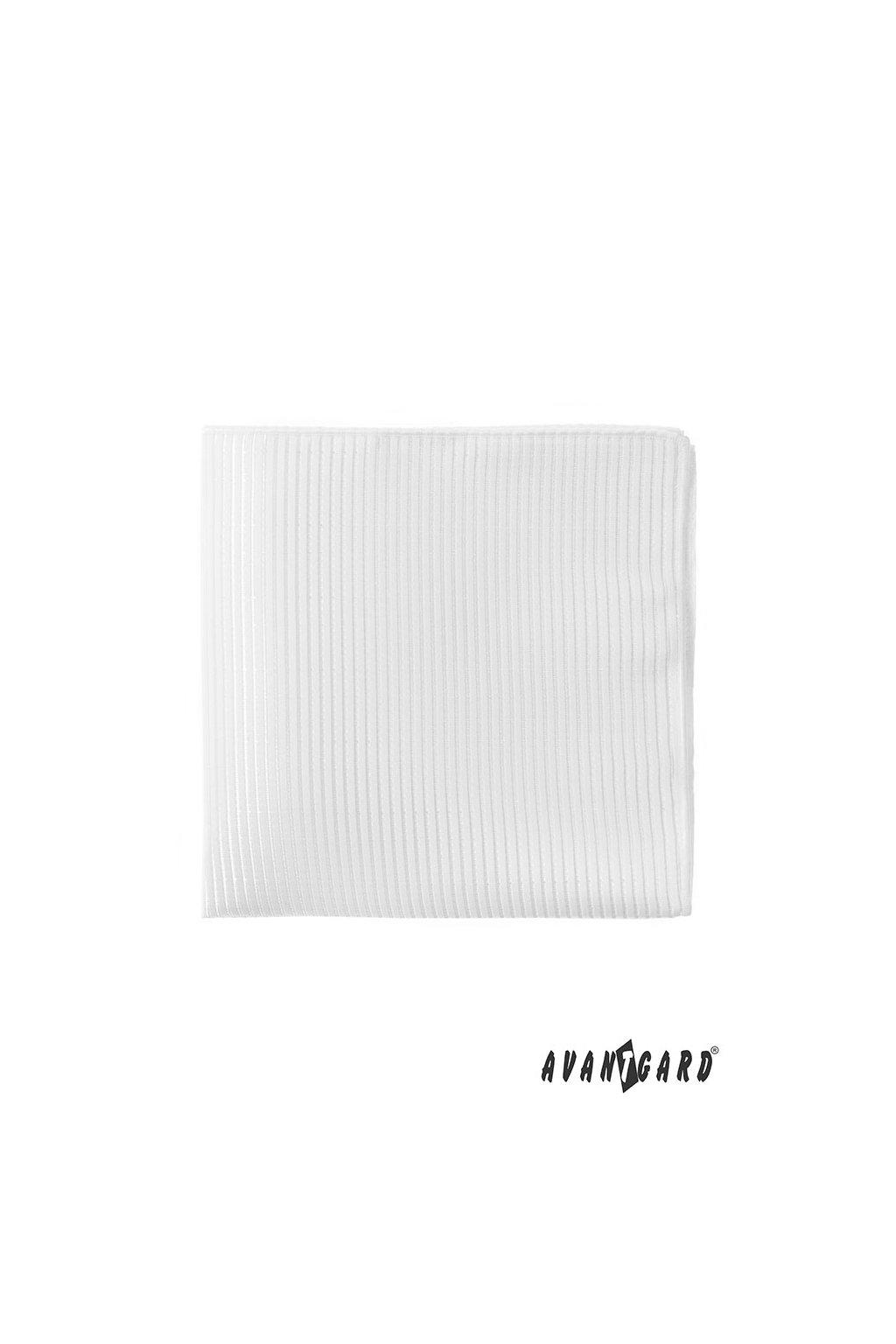 Kapesníček do saka LUX bílá 583 - 9337