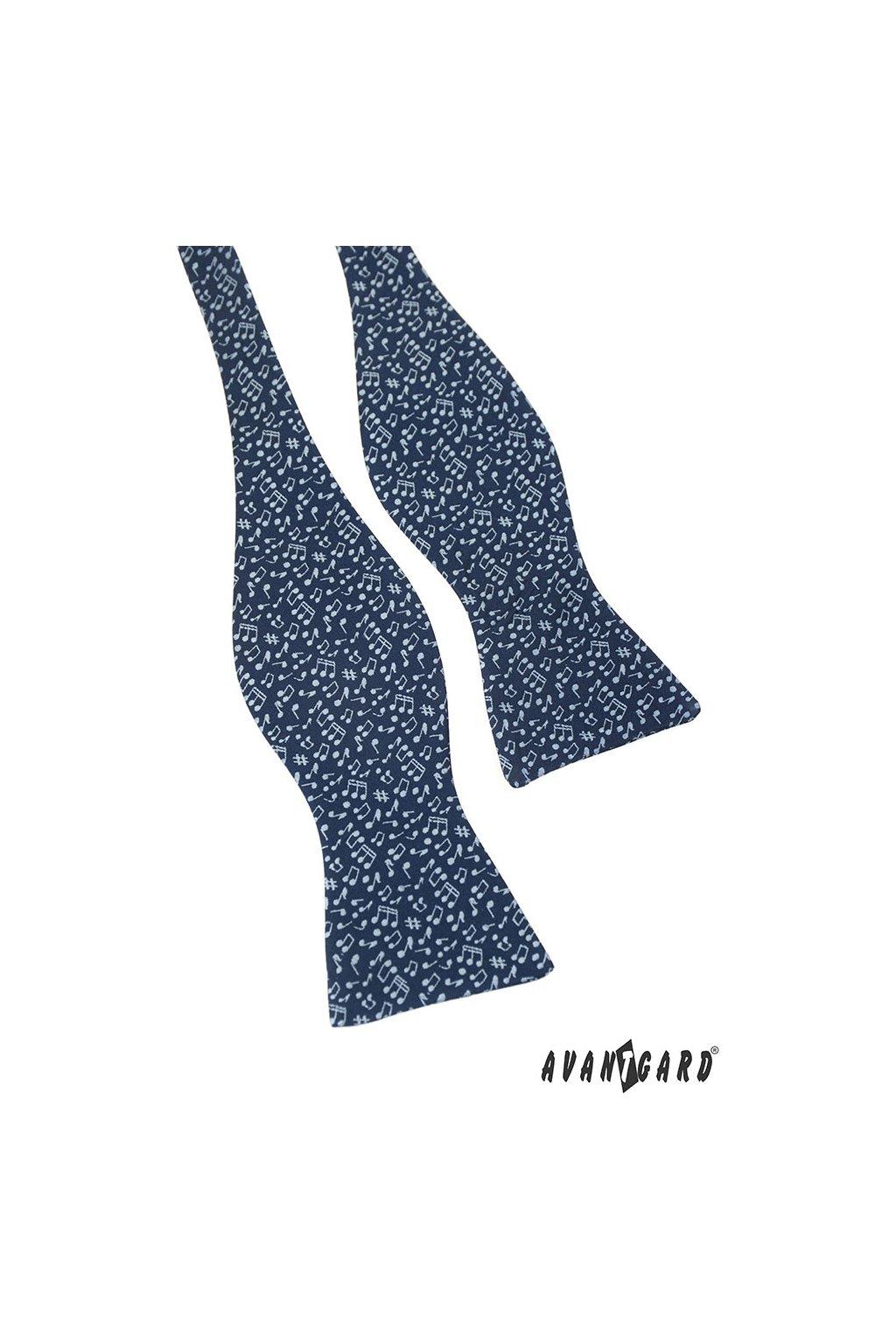 Vázací motýlek modrá 598 - 81164