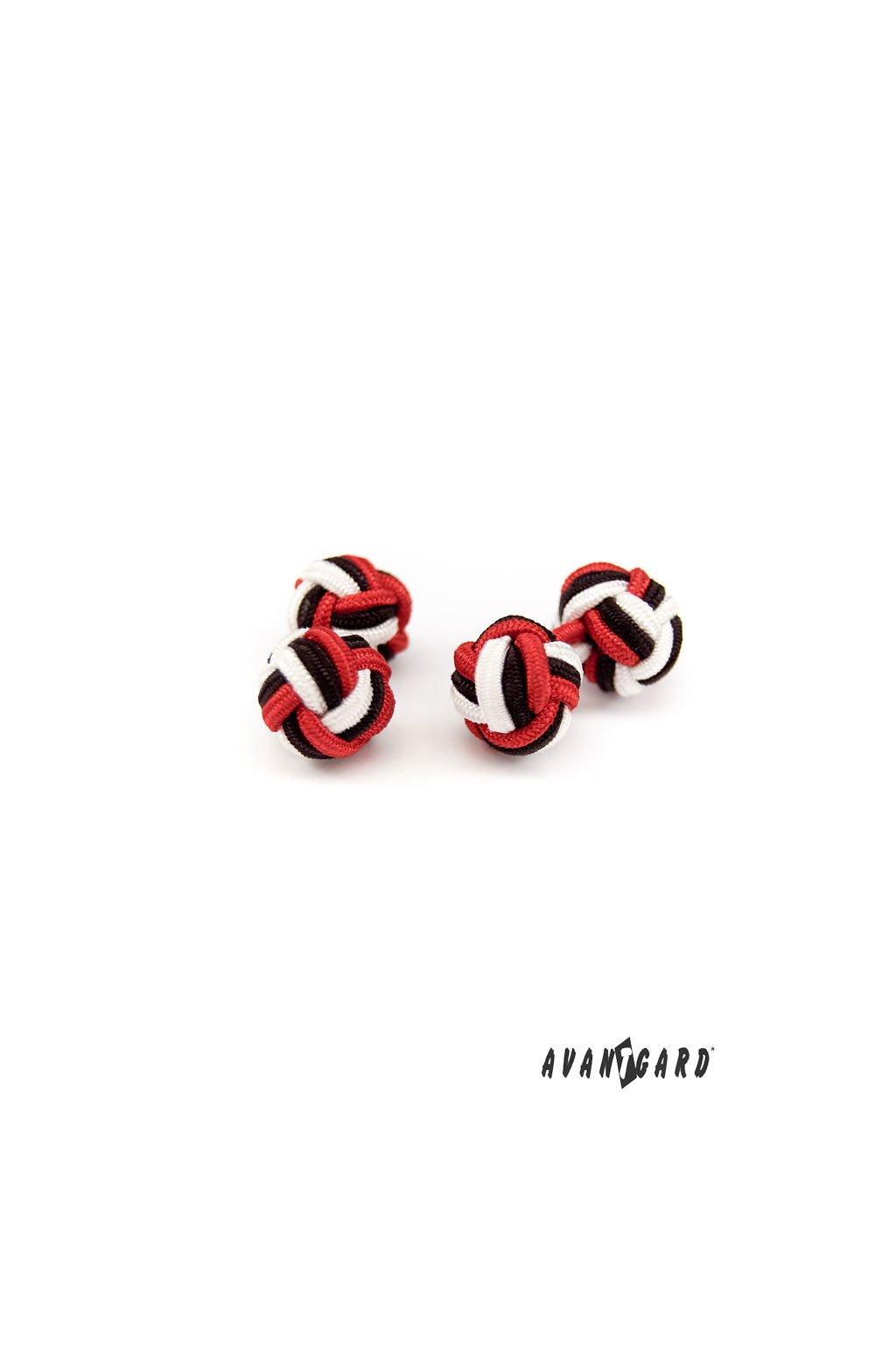 Knots - manžetové uzlíky AVANTGARD černá 614 - 2312