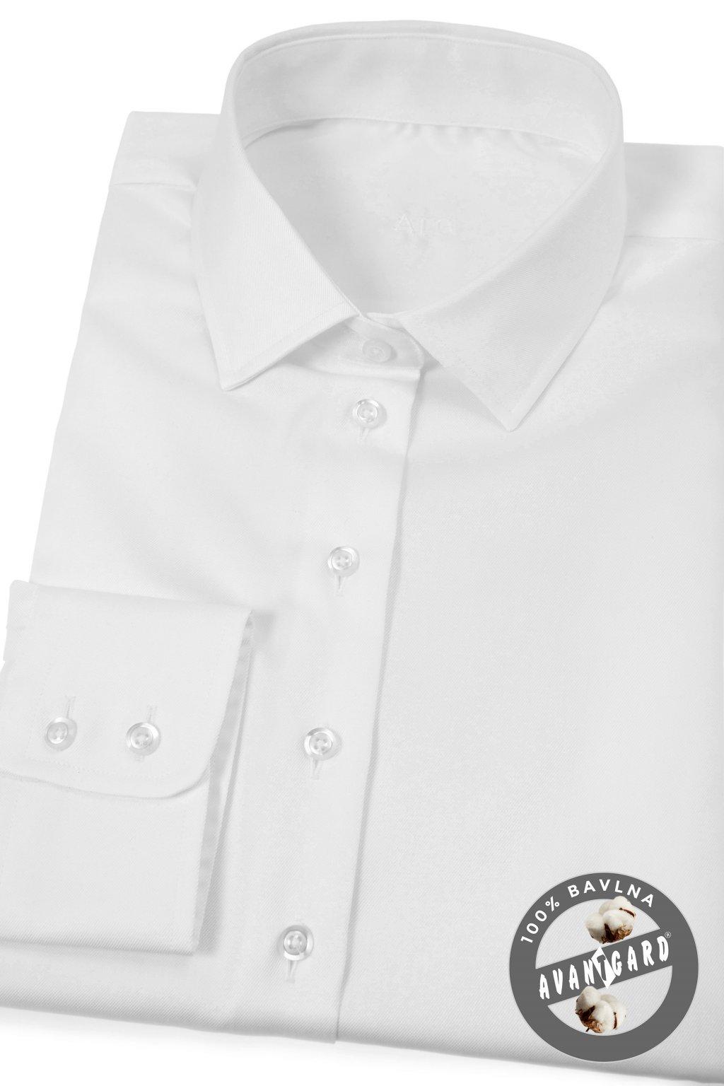 Dámská košile dl.ruk. bílá 721 - 1