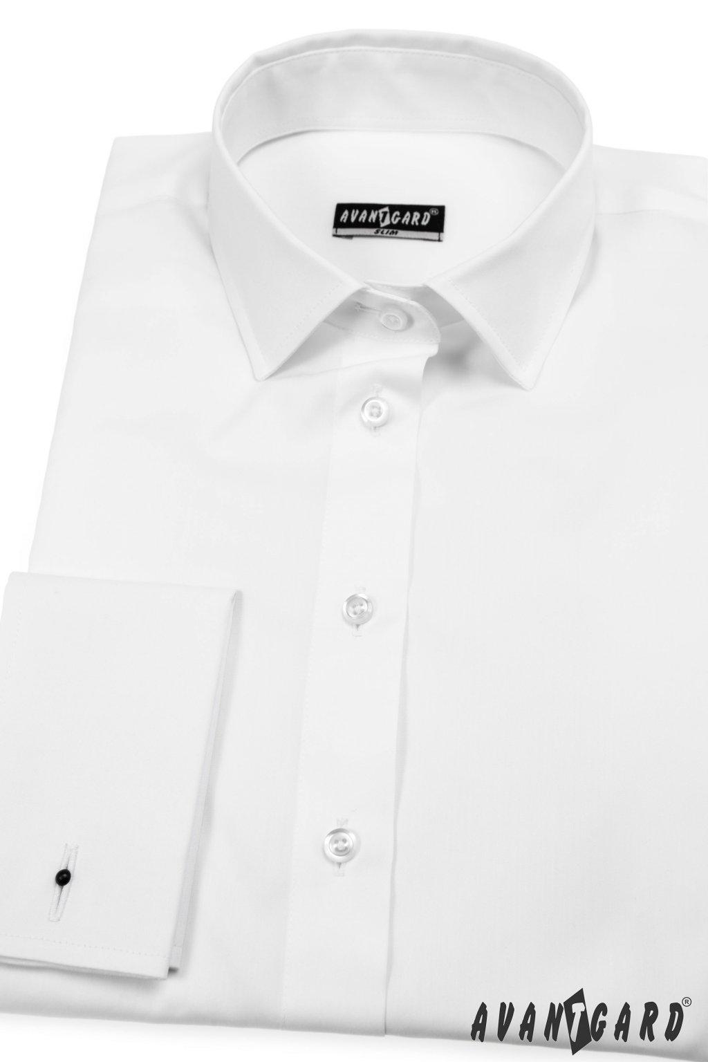 Dámská košile na MK bílá 722 - 1
